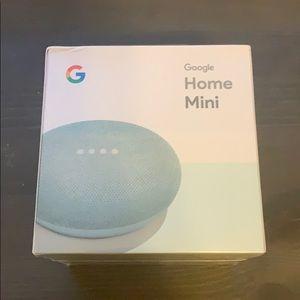 Turquoise Google Home Mini